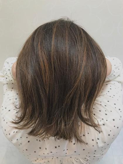 外国人風ハイライトで立体感✨【髪の毛に動きを出したい方!!おすすめ✨】カット+ハイライト※ブリーチ込みの料金です。