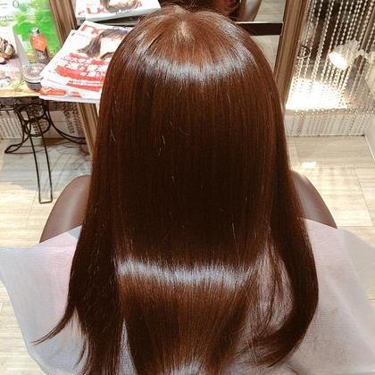 カラー後のトリートメントでツヤツヤサラサラでした✨ ヘアーメイクWiLL 阪急茨木店所属・鈴木未祐のスタイル