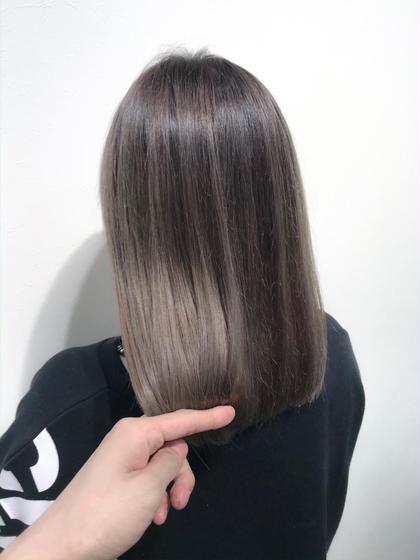 【バレイヤージュ】×【グレージュ】  人気のバレイヤージュ♪  ストレートヘアでも巻き髪でも、どちらでも可愛くお洒落に🙆♂️   インスタグラムで、その他スタイル更新してます。 気に入ったスタイルは保存しておいてもらうと カウンセリングがスムーズです☆ な instagram→@hayatoniwa