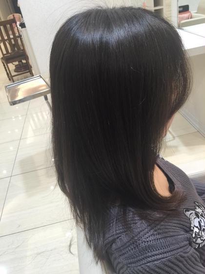 30代、大人な雰囲気でうちに入りやすく、前髪は流れるように PROGRESS 大泉学園店所属・藤田翔士のスタイル