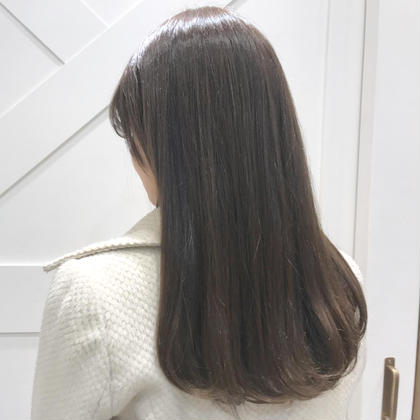 【3月限定ホームケア付】透明感カラー&トリートメント