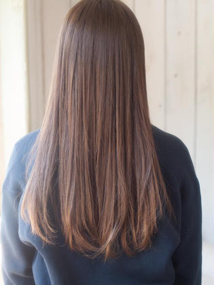 【艶髪!!】カット+髪質改善トリートメント+炭酸泉¥11500