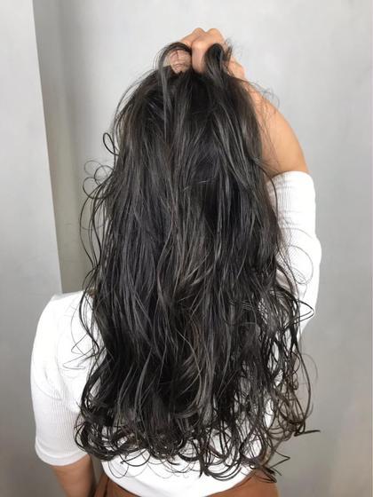 【深色×濃髪×得】最流行アディクシフルカラー+カット¥7800 *グレージュ/シルバー/自然な黒髪/青髪*