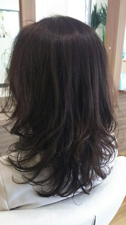 エアロパーマ➕クリスタルカラー➕オージュアトリートメント PRIMO 本川越駅前店所属・中里かよ   PRIMOのスタイル