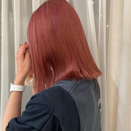 Wカラー+髪質改善トリートメント♡
