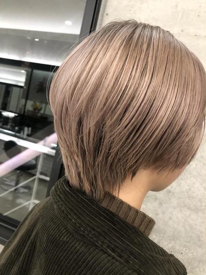🍒SNSで話題🍒透明感のあるダブルカラー(髪質改善サイエンスアクア入り)+TOKIOトリートメント(超音波アイロン)