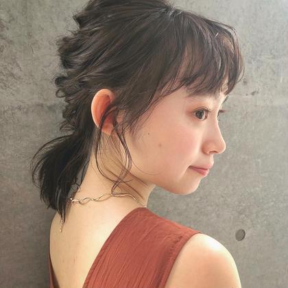 🍒なりたい髪へ🍒カット+Aujuaトリートメント
