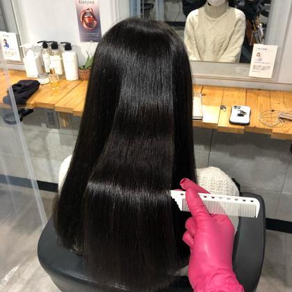 プレミアム髪質改善👑✨さらさらつやつやしっとりまとまり感を与える✨