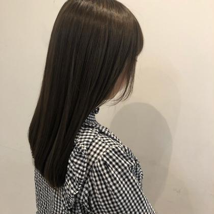柔らかくしっかり伸ばすクリスタル縮毛矯正(ストレートパーマ)+Aujuaトリートメント💕