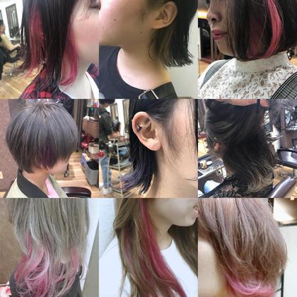 【ミニモ限定】カット+カラー+インナーカラー