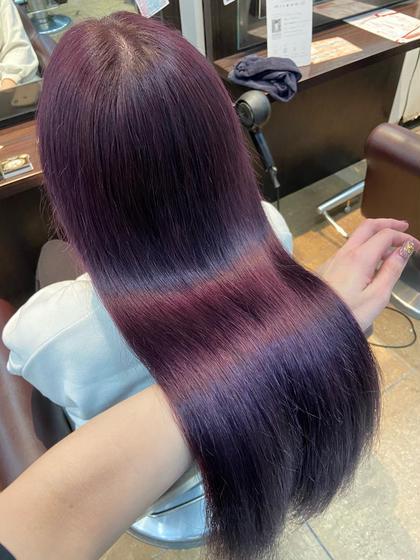 💐色も髪質も大切に💐❤︎ダブルカラー&グラスヘアトリートメント❤︎