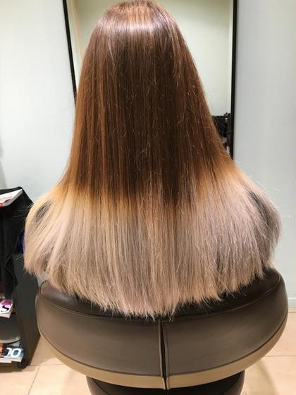 グラデーション organic hair salon byEQ所属・岡田憲紀のスタイル