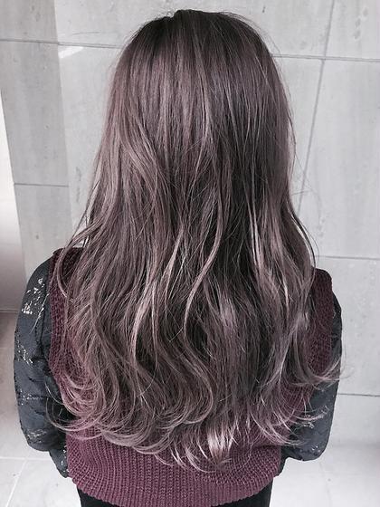 艶髪カラー+極楽ヘッドスパ✨(メンテナンスカット有り)