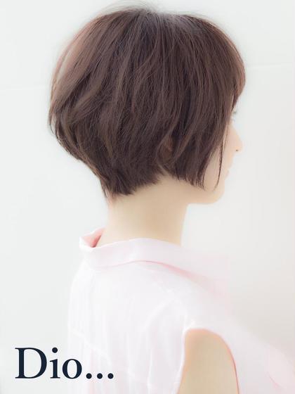 しっかり切り込むグラデーション Tokyo hair salon  Dio所属・加藤瑛のスタイル