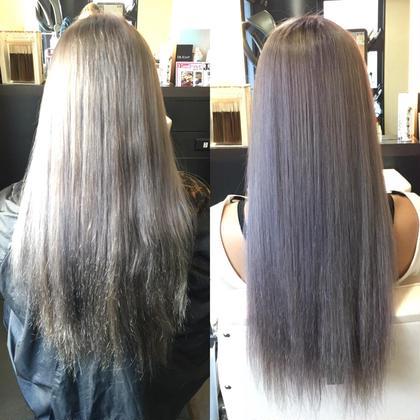 カラー ロング カラーバターで髪の毛を傷めずに!! カラーでは出来ない色にも挑戦出来ちゃいます♡
