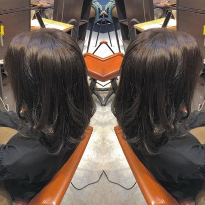 バージン毛からナチャラルなアッシュカラーに。  本日はご来店ありがとうございました🤗 axia大和田店所属・村上夕稀のスタイル