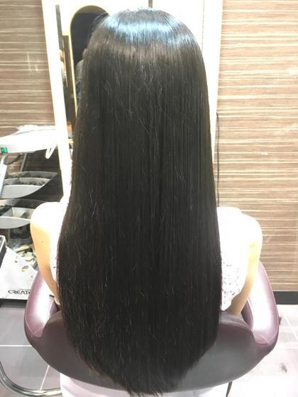 毛先をカットして、手触りが良くなるように整えました。 miq日暮里所属・宮宗寿季也のスタイル