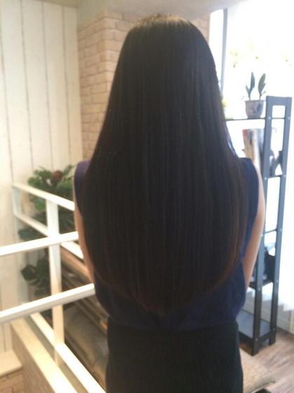 カット & アイロンストレート& 髪質改善トリートメント