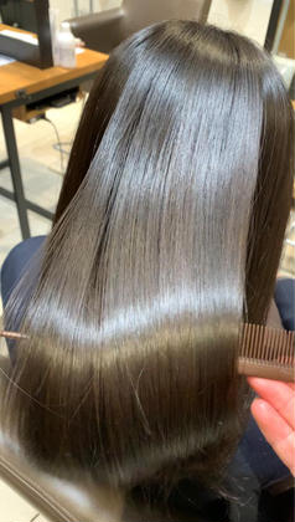 ✨今流行り✨髪質改善#酸熱トリートメント&イルミナカラー&コラーゲンケア