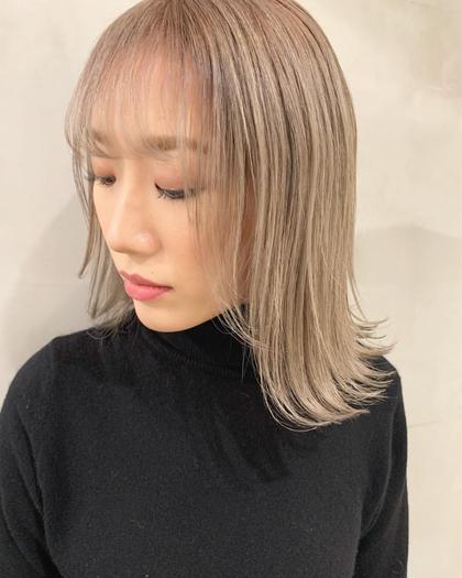 L&Co. by LUCK HAIR所属の山﨑優作のヘアカタログ