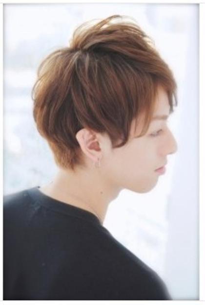 簡単セットスタイル^ ^ 耳周りもスッキリ☆ たなかかんぞうのメンズヘアスタイル・髪型