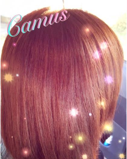 ヘアカラーは発色、手触り、色持ちが抜群!! Eyelash&Relaxation salon Camus所属・中井恵理子のフォト
