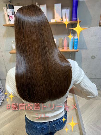 髪質改善!高濃度水素トリートメント