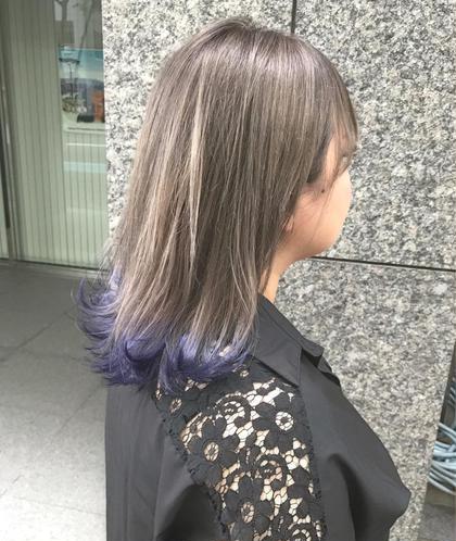 グレージュ裾カラー CHERIEhair design所属・ヤマモト徹のスタイル