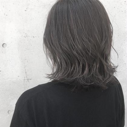⭐️カット+白髪染め(グレイカラー)+リゴッツTr+アウトバスTr+プチスパ