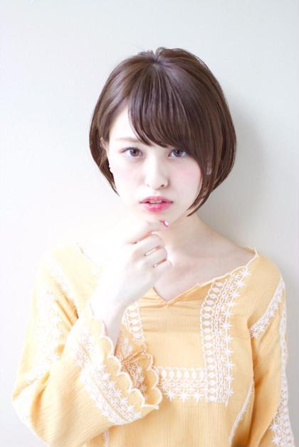 耳かけ小顔ショート✨ AFLOAT JAPAN所属・水間龍のスタイル