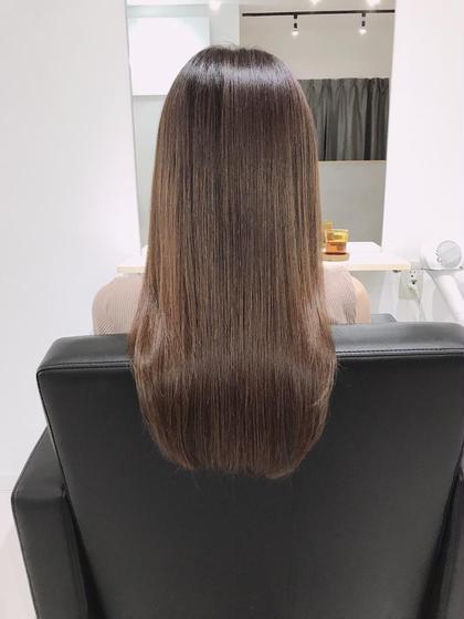 🌈髪質改善ミネコラトリートメント🌈&シャンプーブロー