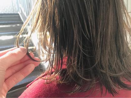 前髪カット+カラー+4stepハホニコTR 【¥10700⇒¥6500】新宿