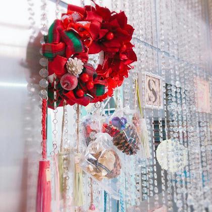 ネイル ♪ハンドメイドの限定商品の販売もしております♪   クリスマスリースは毎年大人気⭐⭐