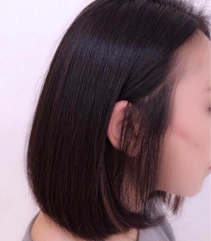 ポイント縮毛矯正+似合わせカット