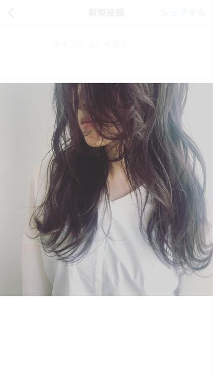 前髪カット+イルミナカラー+ダメージ補修5Stepトリートメント