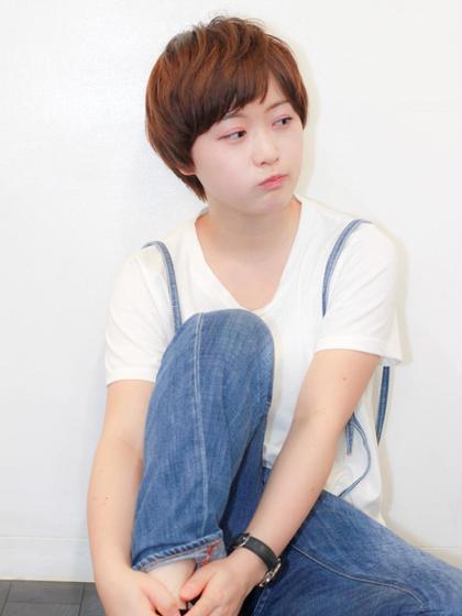 ボーイッシュショートボブ☆ zinghair /  shinkoiwa所属・村本詳裕のスタイル