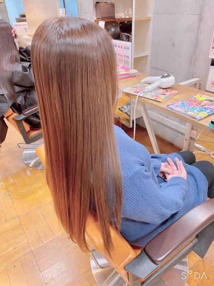 平日限定♪新規の方☆【N./エヌドット】髪質改善/縮毛矯正+カット+Tr ¥16,400→¥13,000