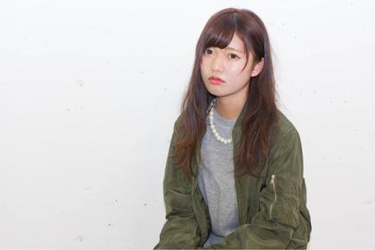 ストリート感が出たカッコ可愛いスタイル!!!  sowi  hair  design所属・長谷川聖太のスタイル