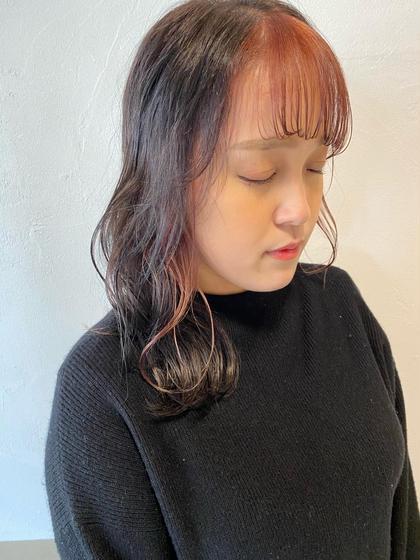 💚4月限定💚✂︎イメチェン前髪カット+透明感カラー+濃縮炭酸トリートメント
