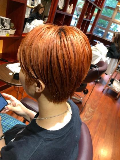 トレンドカラー+髪質改善トリートメント