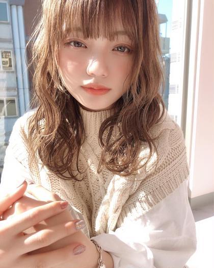 ⭐️初回限定⭐️カット&透け感カラー&シルクトリートメント