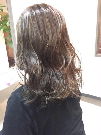 【❄️人気3Dハイライト・バレイヤージュカラー❄️】美髪イルミナカラー➕ハイライトorバレイヤージュ➕極上トリートメント