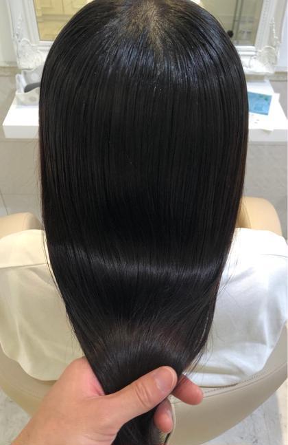 ☆髪質改善☆酸熱トリートメント+ブロー