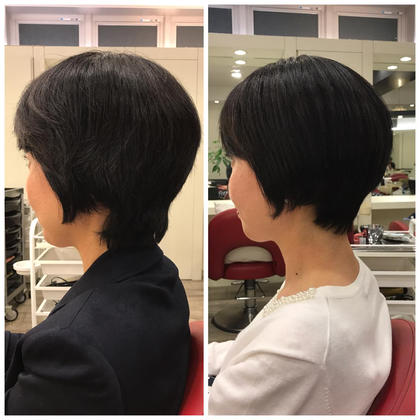 ショート side Before→after