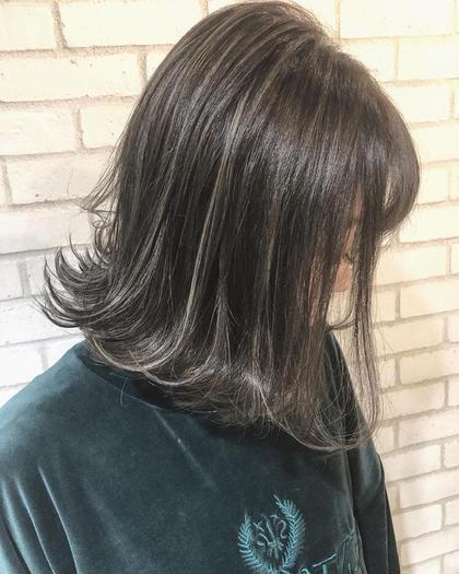 僕にしかできないコントラストハイライト!! hayatoトップカラーリストのミディアムのヘアスタイル