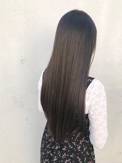 🌟ポイント縮毛矯正(前髪縮毛)+カラー+リゴッツTr+アウトバスTr+プチスパ