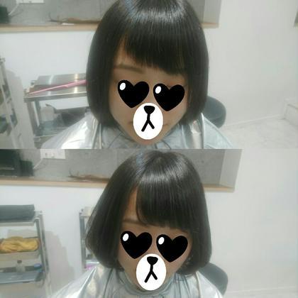 ショート ヘアアレンジ 切られ過ぎた前髪も治します☆(10本)