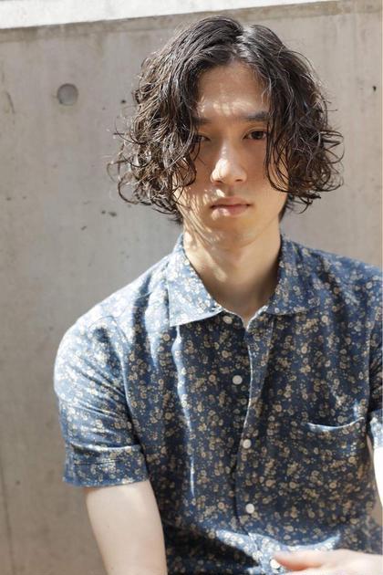★メンズ職人カット★&似合わせニュアンスパーマ★&炭酸ジェットspa★