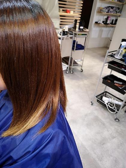 MALQ HAIR CARE所属・小松樹のスタイル