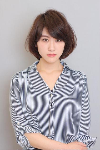 ☆大人ナチュラルボブ☆ ZA/ZA 早稲田店所属・吉田涼二のスタイル